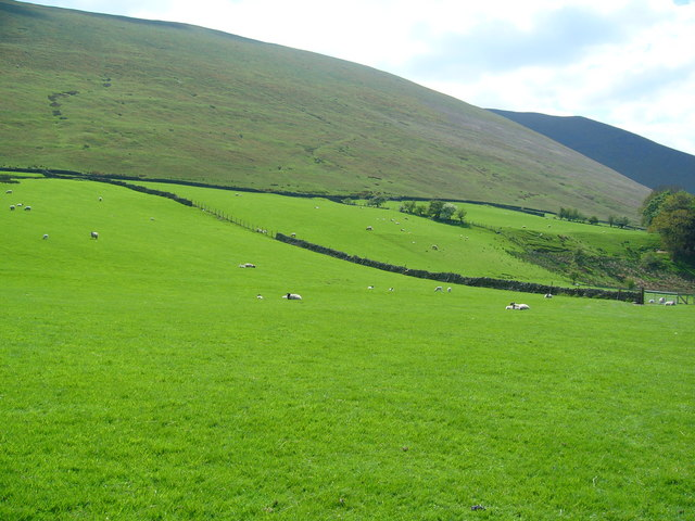 Pasture land below Souther Fell