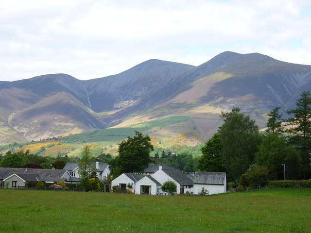Keswick Outskirts showing Skiddaw