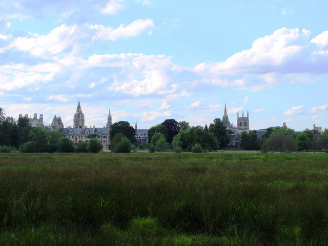 Christchurch College meadow