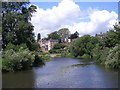 SJ4913 : River Severn from 'The Gateway Centre' by Row17