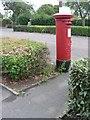 SZ0895 : Northbourne: postbox № BH10 315, Saxonhurst Road by Chris Downer