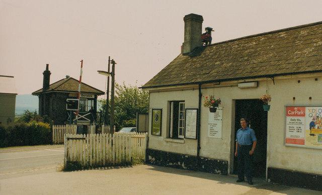 Berwick Station 1986