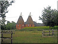 TQ5847 : Hilden Farm Oast, London Road, Tonbridge, Kent by Oast House Archive