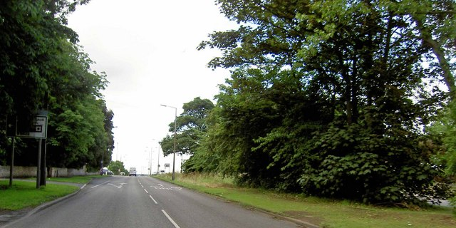 The A638 York Road out of Doncaster