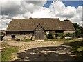 SO8714 : Barn, Upton St. Leonards by Derek Harper