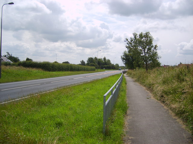 A19 and cycle track