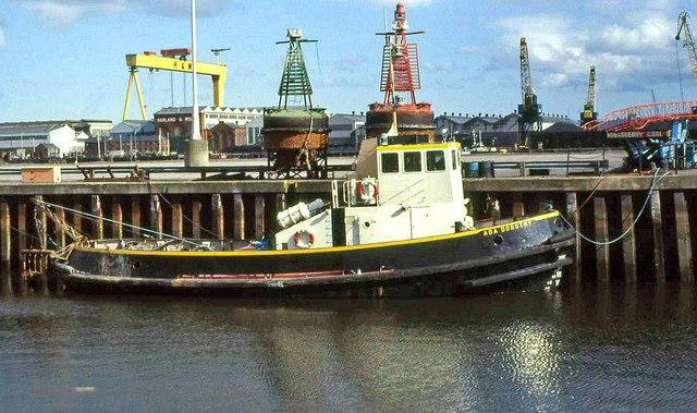 The Clarendon Dock, Belfast (1989)