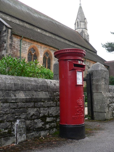 Bournemouth: postbox № BH2 116, St. Augustin�s Road