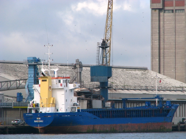 Cargo ship 'Imi' at Belfast