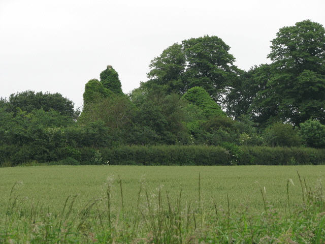The ruin of St Michael's church