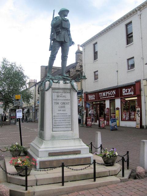 War Memorial, Kendal