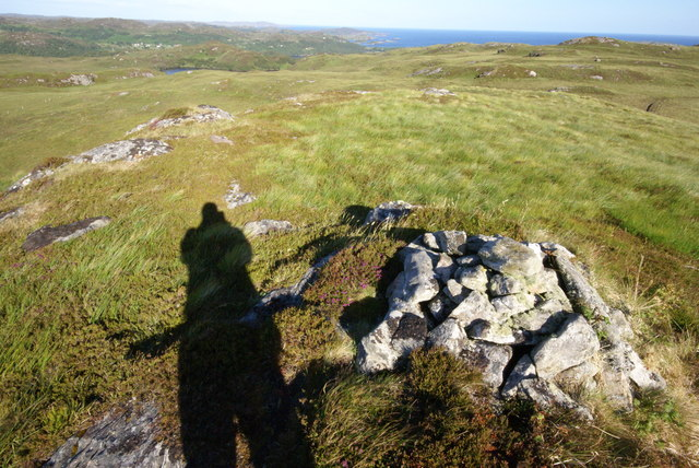 Morning Shadows on Sidhean na Chloiche Muilinn