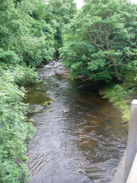 Afon Tawe from the Abercraf bypass bridge