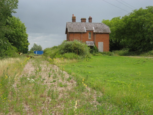 Lode: Former Bottisham & Lode Railway Station
