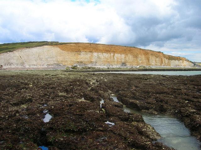 Short Cliff © Simon Carey :: Geograph Britain and Ireland