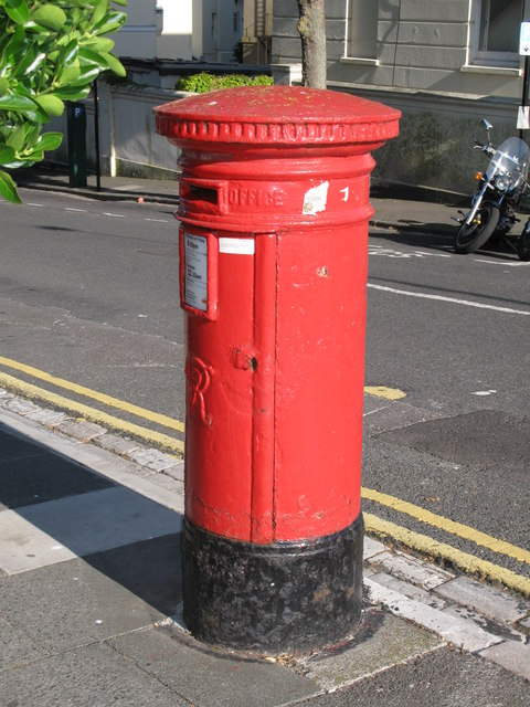Victorian postbox, Dyke Road / Leopold Road