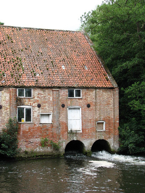 Millgate Mill - the tailrace