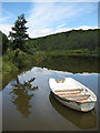 SO6425 : Little boat  on a summer's day by Pauline Eccles