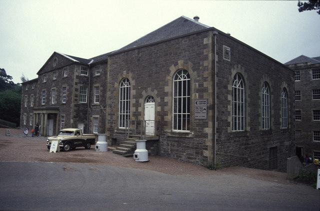 New Lanark engine house