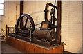 SE3306 : Steam engine, engineering works, Barnsley by Chris Allen