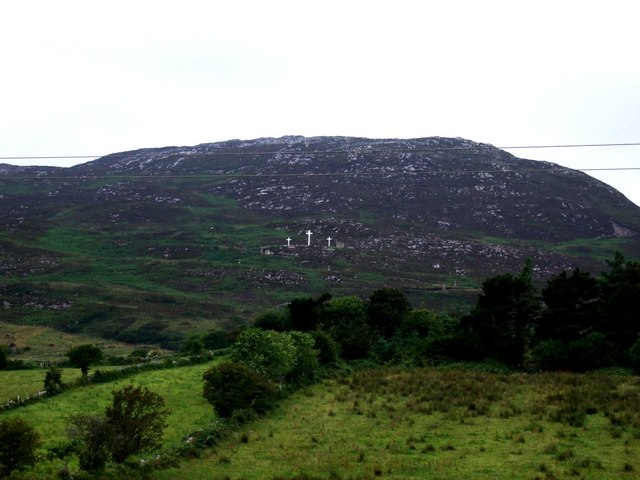 View across to Knockalla Mountain