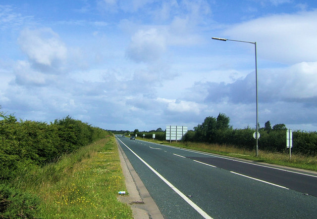A19 near Easingwold