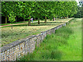 SP6736 : The ha-ha, Stowe by Dr Richard Murray