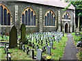 ST6376 : Fishponds churchyard by ceridwen
