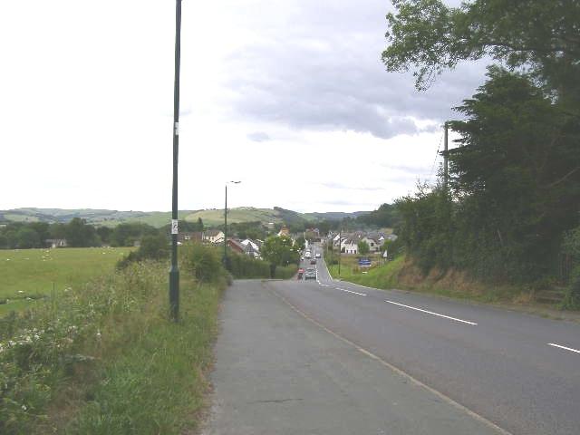 Road from Pentre-llyn
