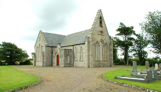 St John's (CoI) parish church, Tyrella