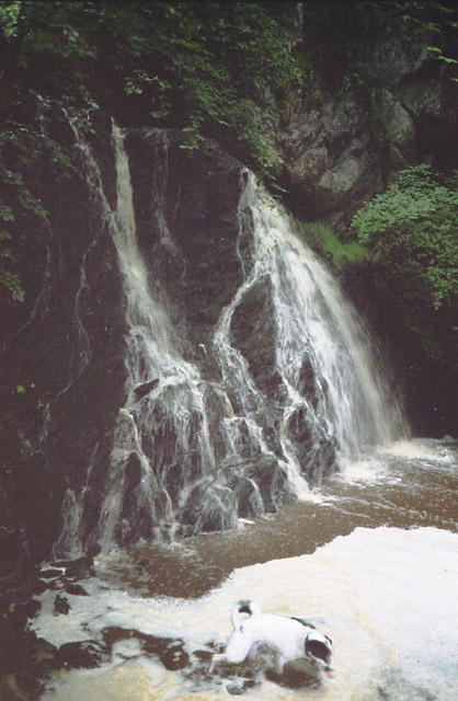 Waterfall near Drummarkie