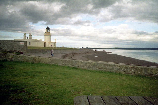 Beach & Lighthouse at Chanonry Point