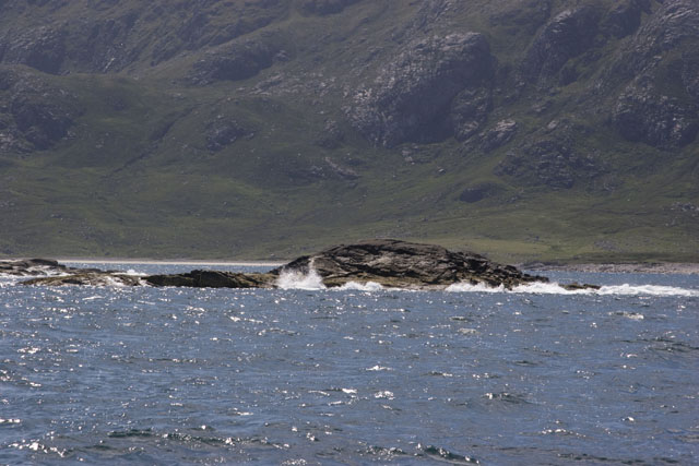 Fladaigh island with Scarp in background