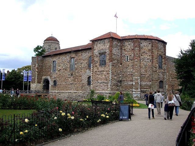 Colchester Castle from its park