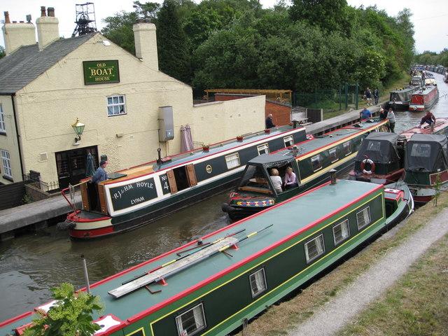 Boat Rally at Astley Green