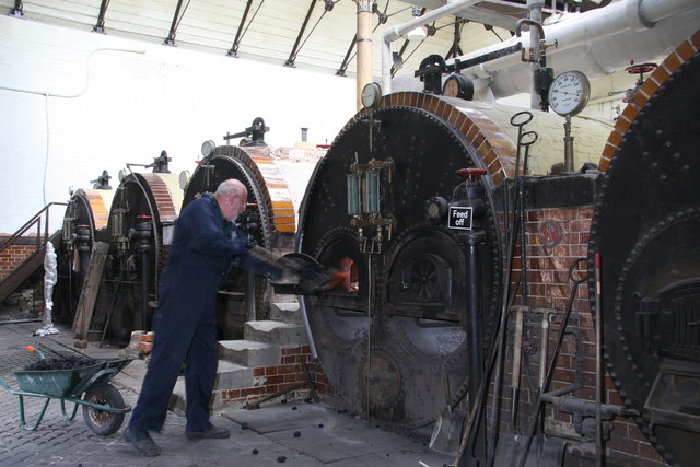 Feeding the beast - Papplewick Pumping Station