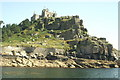 SW5129 : St Michael's Mount from the Sea by Pierre Terre
