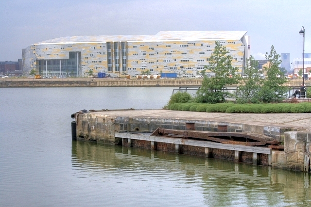 Entrance to Middlesbrough Docks