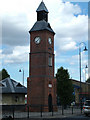 The clock tower is all that remains of the old Vickers factory and was once inside the factory gates. is main function was as a sewage lifting station and was erected to commemorate the coronation of King Edward c1902