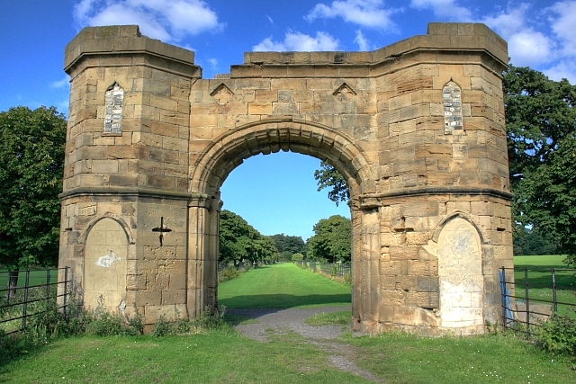 Ornamental Gatehouse, Kirkleatham Hall