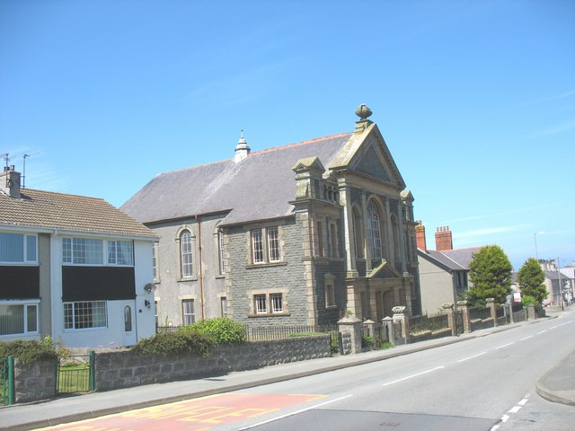 The former Ebenezer Chapel, Kingsland