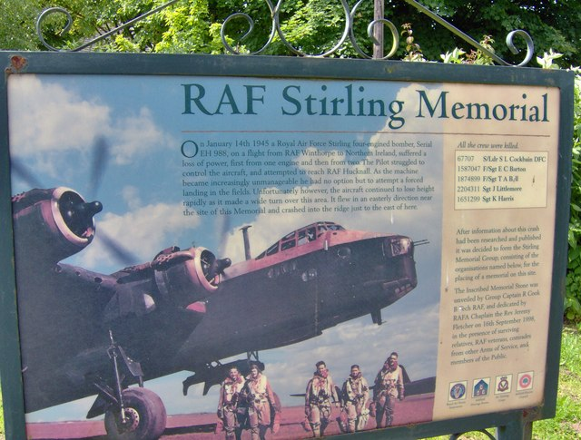 RAF Stirling memorial, Annesley