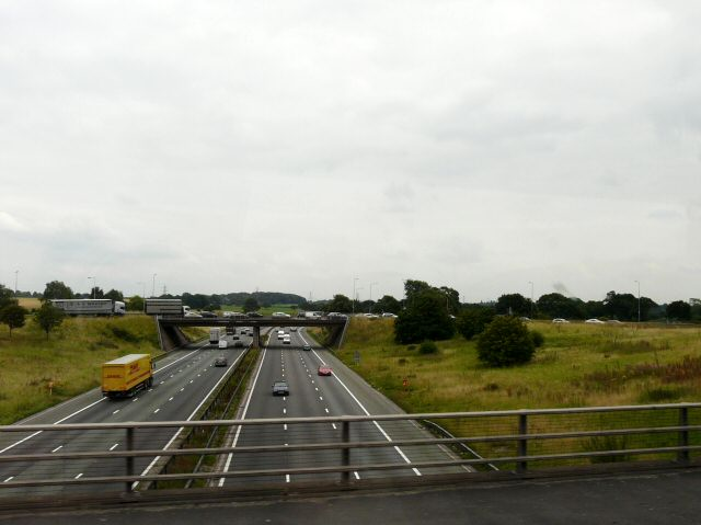 M6 Junction 19