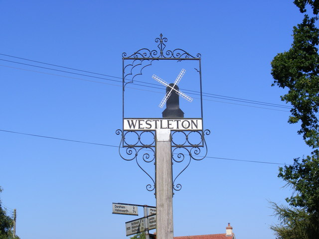 Westleton Village Sign