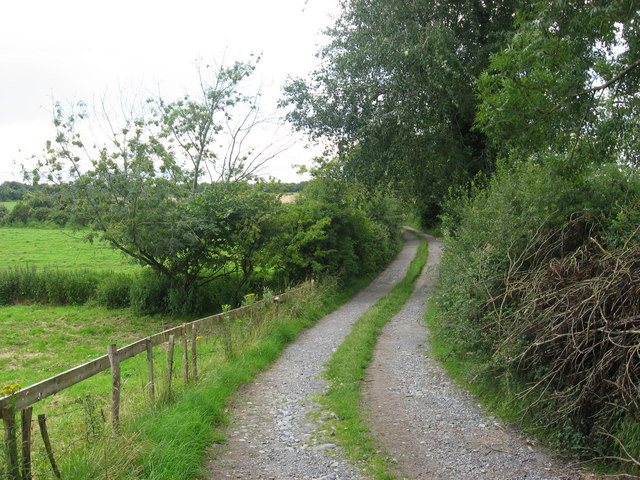 Walking route at Rooaun, Co. Galway