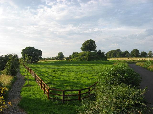Motte at Clonard, Co. Meath