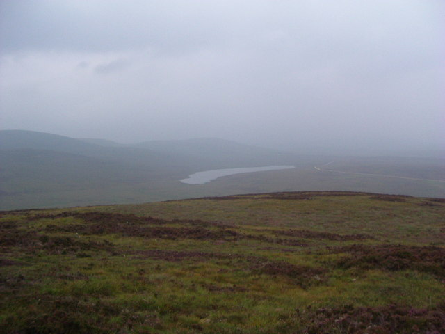 Loch Ascaig from Borrobol Hill
