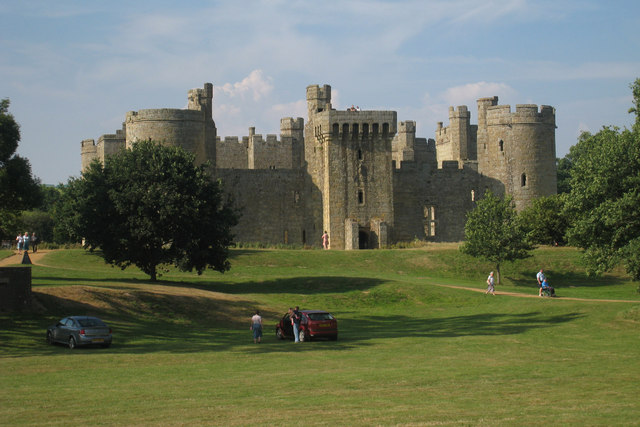 Bodiam Castle, Bodiam, East Sussex