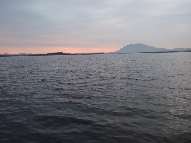 Sunrise on Loch Langavat