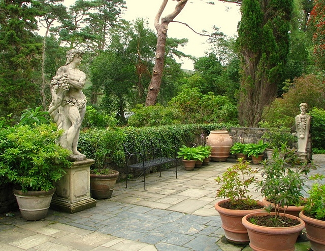 Italian Terrace Glenveagh Castle Rossographer